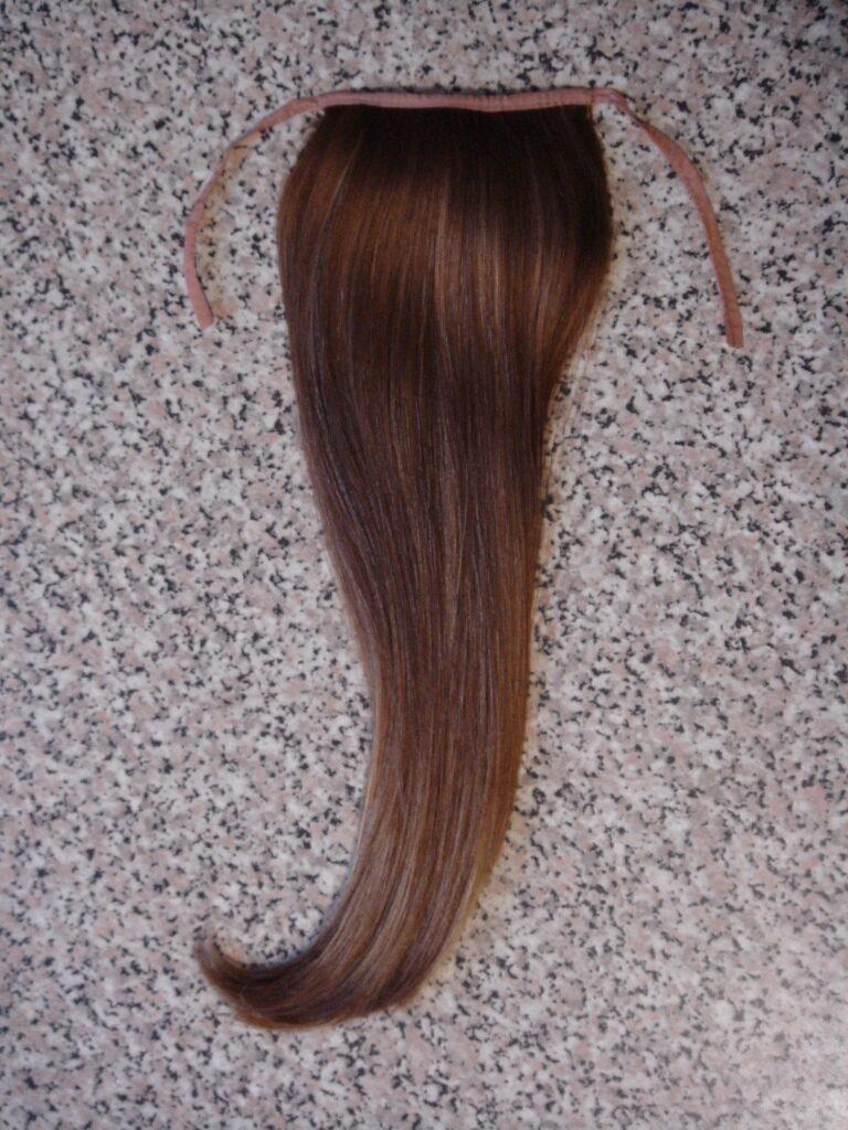 Как сделать хвост из натуральных волос своими руками